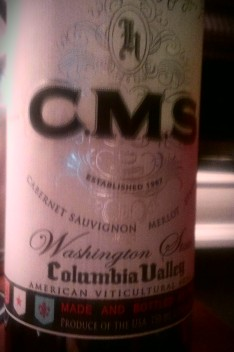 Columbia Valley CMS, New World Bordeaux